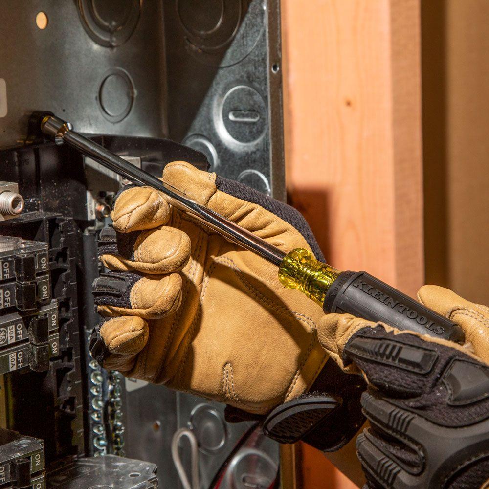 Klein Tools 647 7 Piece Cushion-Grip Nut Driver Set