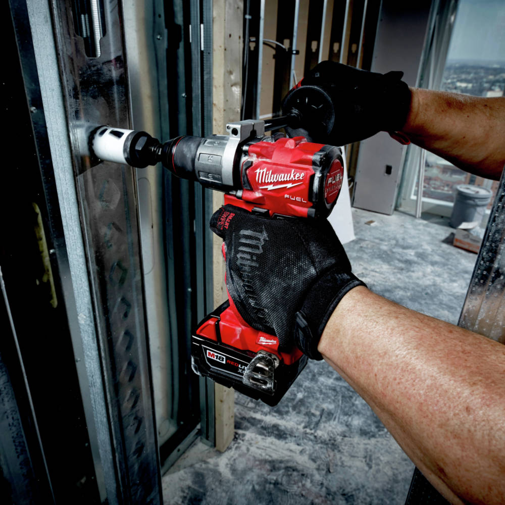 M18 FUEL 1/2 in. Hammer Drill is the most compact hammer drill in its class