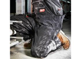 Black 261B-XLR New Milwaukee GRIDIRON Zip-to-Thigh Bib Overall