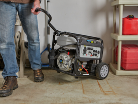 Portable generator to go with you anywhere