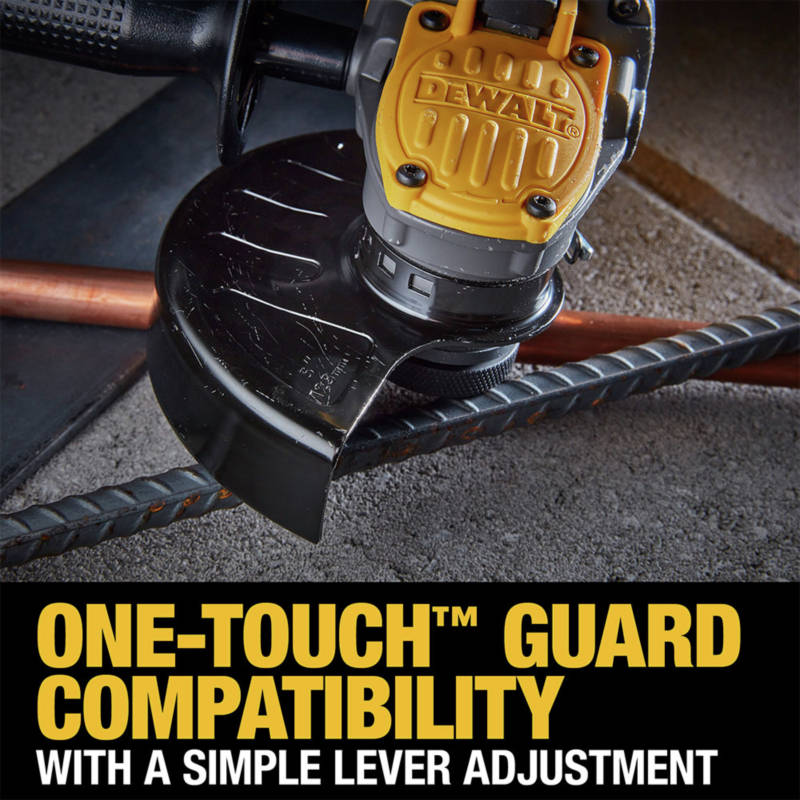 One-Touch Guard Compatibility with a simple lever adjustment