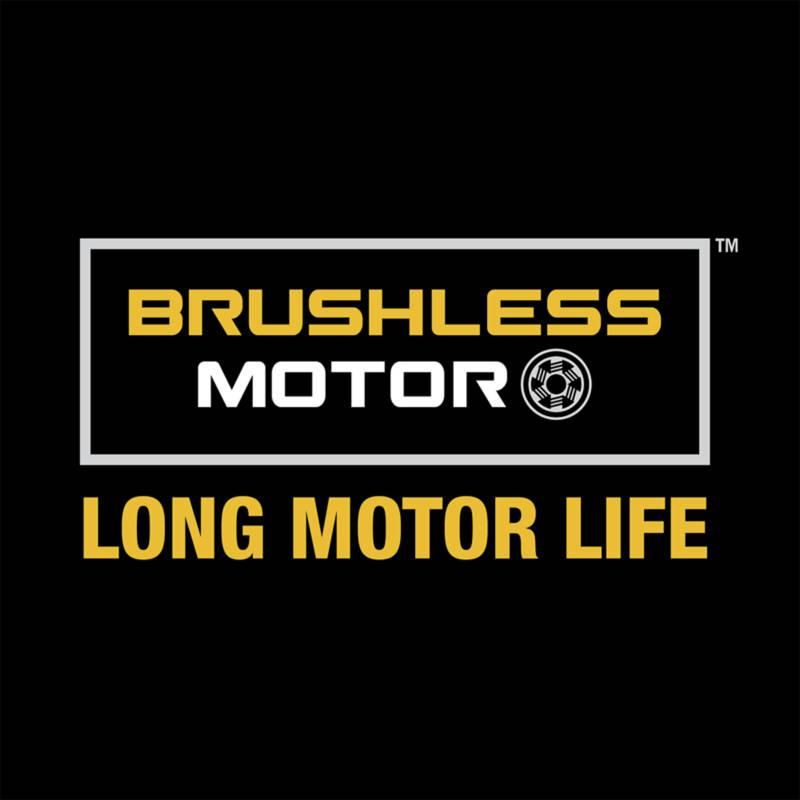 Brushless Motor provides long motor life