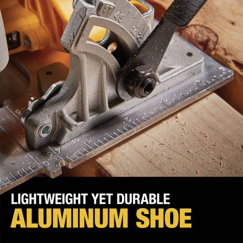 Lightweight yet durable aluminum shoe