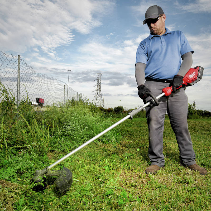 M18 FUEL String Trimmer with QUIK-LOK powers through the most demanding applications