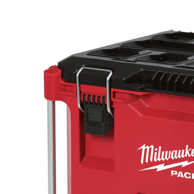 Milwaukee PACKOUT Rolling Tool can withstand harsh jobsite environments