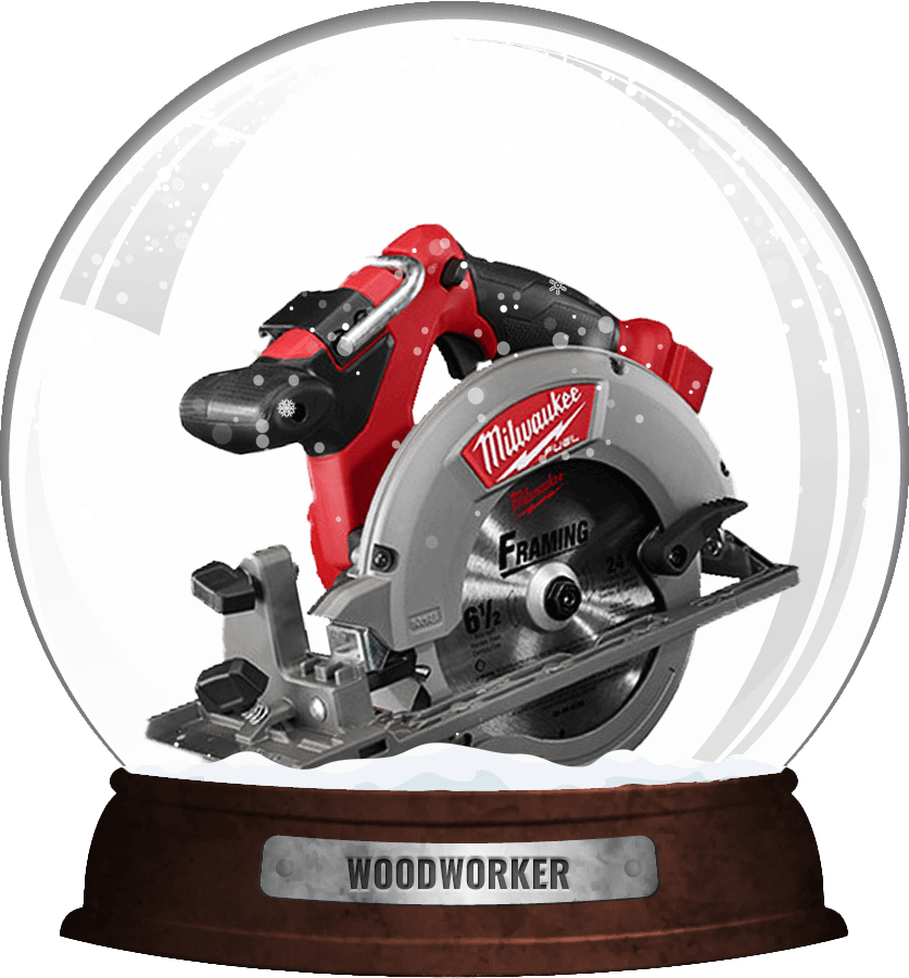 woodworker snow globe