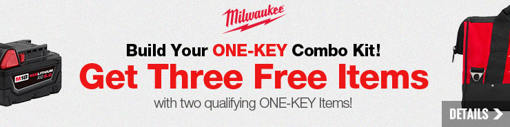 Build Your Own Milwaukee ONE-KEY Combo Kit