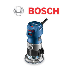 $20 off $100 on Bosch Woodworking Products!