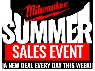 Milwaukee Summer Sales Event