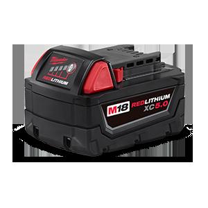 FREE Milwaukee M18 XC5.0 Battery