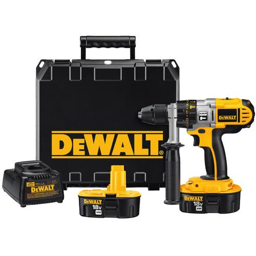 DeWalt Factory-Reconditioned DCD950KXR 18V XRP Cordless 1/2 in. Hammer Drill Kit