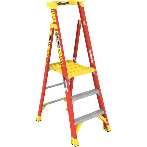 Werner PD6203 3 ft. Type IA Fiberglass Podium Ladder