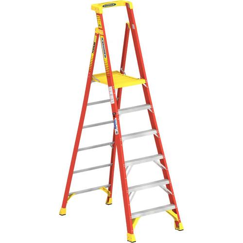 Werner PD6206 6 ft. Type IA Fiberglass Podium Ladder